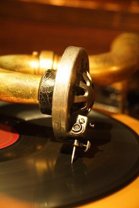 蓄音機 レコード